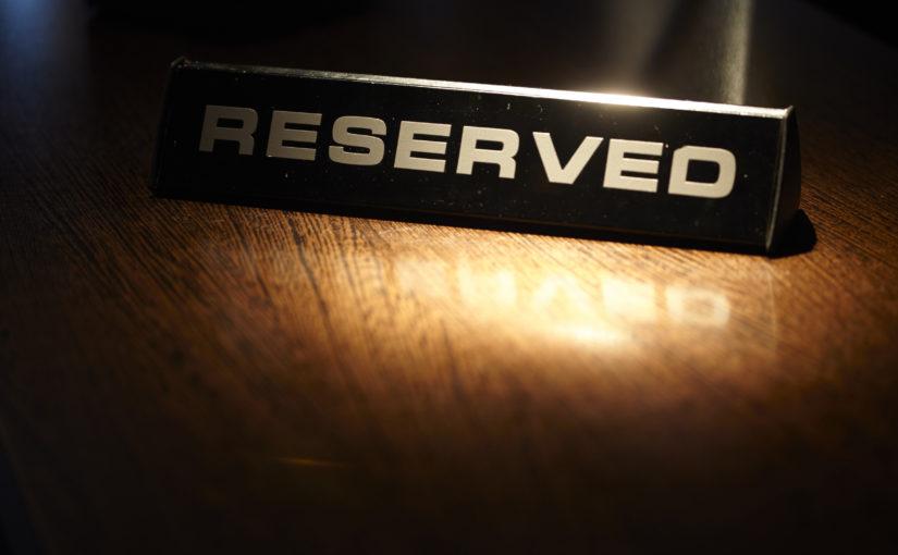 Tischreservationen einfach planen